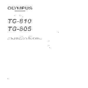 olympus tough tg 5 manual pdf