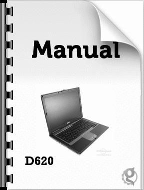 dell latitude d620 user manual