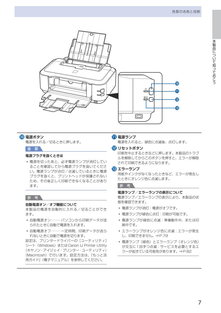 canon ip4700 マニュアル