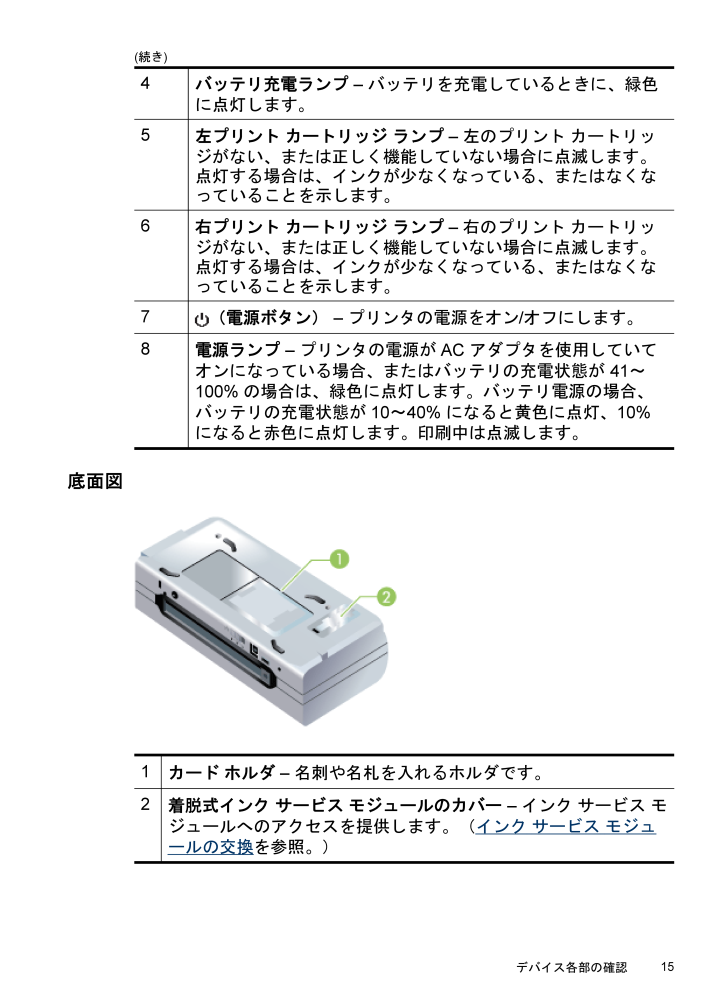 hp officejet h470 説明 書